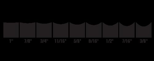 bauer skate sharpening chart: Bauer skate sharpening chart hockey skate profiling and